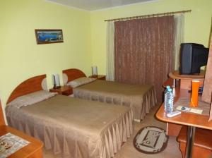 Tiny European hotel rooms