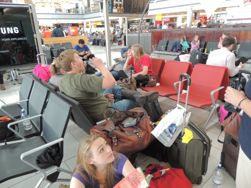 Claiming squatters rights in London's Heathrow Airport